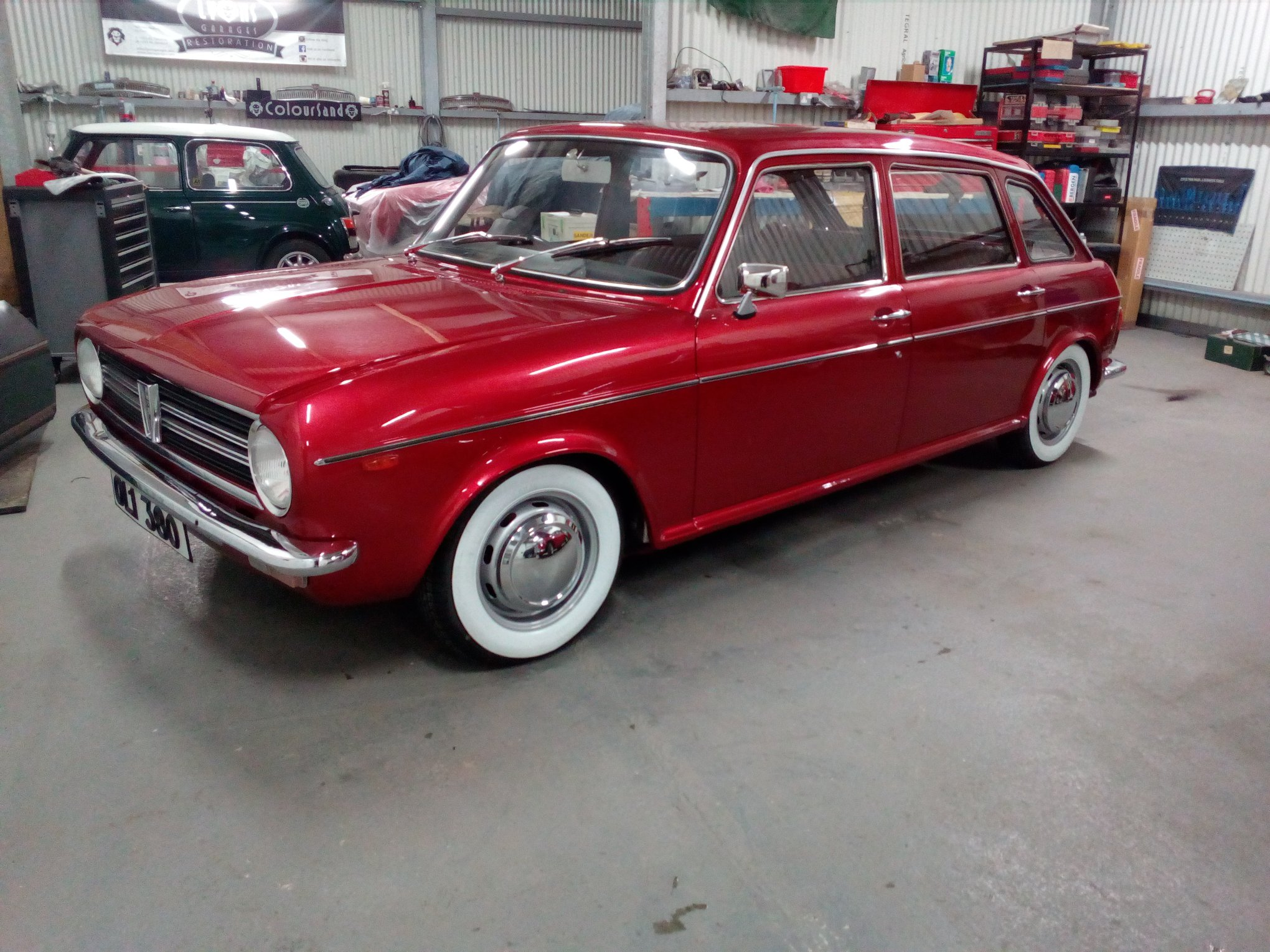 Austin Maxi finished