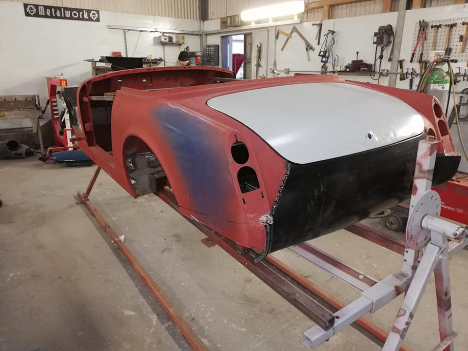 MG Midget Restoration